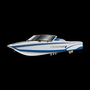 Deck-Boat / Innenborder / Doppelkonsole / Open / Wakeboard