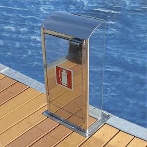 Hydrant / für Wasserversorgung / für Stege / Edelstahl
