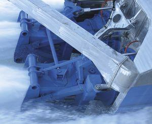 Jetantrieb Turbine / für Schiffe