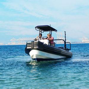 Arbeitsboot Berufsboot / Außenbord / Schlauchboot