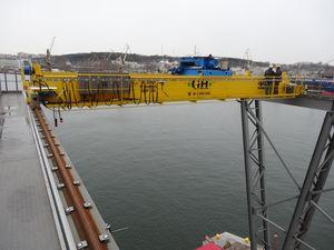 Einträger-Brückenkran