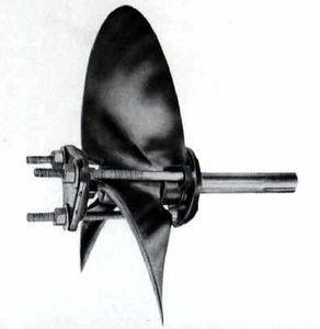 Propellerschraube für Boote
