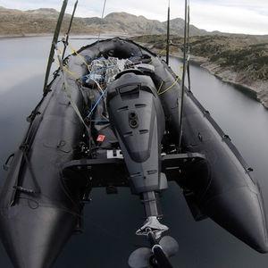 Militärboot Berufsboot / Außenbord / transportierbar / zusammenklappbares Schlauchboot