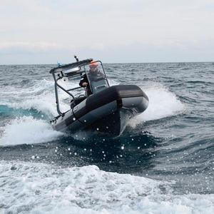 Patrouillenboot Berufsboot / Festrumpf-Schlauchboot / Schlauchboot
