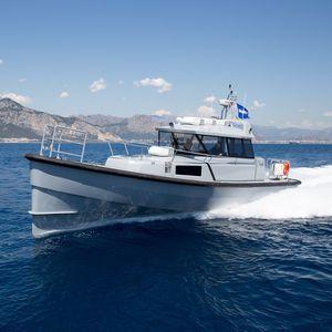 Patrouillenboot Berufsboot / in-board Hydrojet