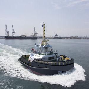 Arbeitsboot Berufsboot / Schlepper / Stern-Drive
