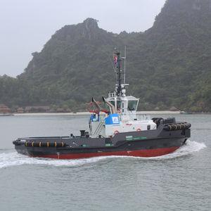 Arbeitsboot Berufsboot / Schlepper / Z-Drive