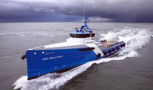 Crew Vessel Offshore Service Schiff / Hochgeschwindigkeit