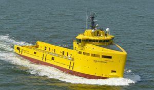 Offshore Service Schiff / Bohrinselversorgungsschiff PSV