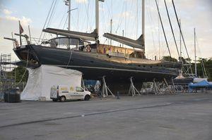 Stützfuß zum Aufdocken / für Boote