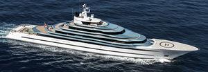 Luxus-Megayacht / Fahrten