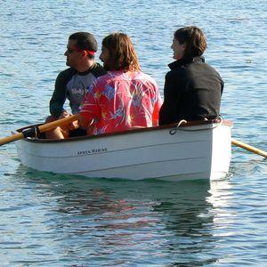 Traditionelles Ruderboot