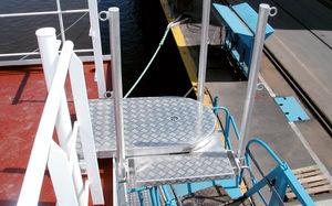 Plattform für Schiffe