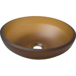 elliptisches Spülbecken
