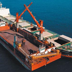 Kran für Knanschiff