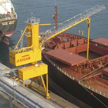 kontinuierlicher Schiffsentlader