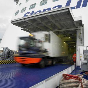 Tür für RoRo Schiffe