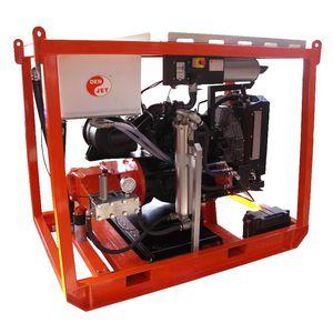 Hochdruckreiniger für Werft / für Schiffe / vormontiert / Diesel-Motor