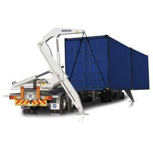 Container-Anhänger / für Hafenterminals / selbstladend / Seitenhub