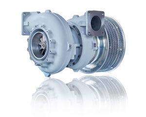 Durchströmturbine Turbolader