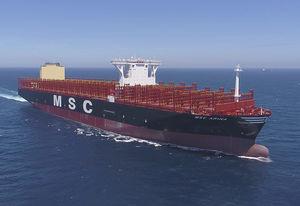 Containerschiff-Frachtschiff