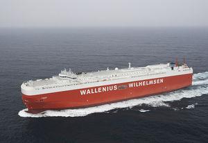 Frachtschiff für Fahrzeugtransporte