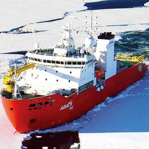 Eisbrecher-Spezialschiff