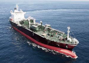 Flüssiggas-Tanker-Frachtschiff