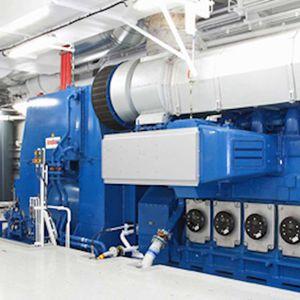 Elektrischer Generator / für Schiffe