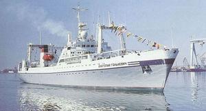 Schiff für die Fischereiforschung