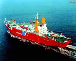 Kabelleger-Spezialschiff