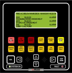 Alarmsystem für Schiffe / Brand