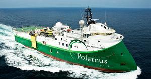Schiff für die seismische Forschung