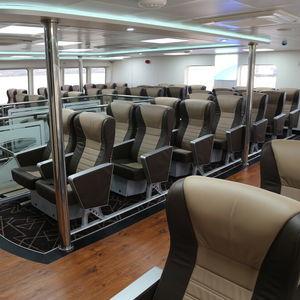 Sitz für Passagierschiff