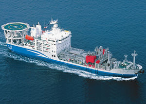 Umwelt-Schiff / zur Ölrückführung