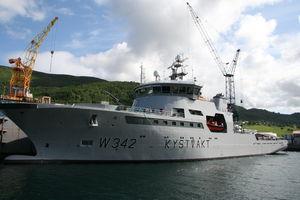 Überwachungs-Spezialschiff