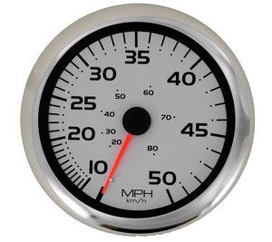 Geschwindigkeitsmesser für Boote / analog