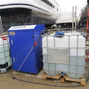 Hochdruckreiniger für Werft / mobil / mit Wasserrecycling / elektrisch