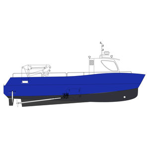 Arbeitsboot Berufsboot / Nutzfahrzeug / Hafenboot / Innenborder
