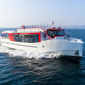 Passagierboot Berufsboot / Hybrid Diesel/Elektro / Aluminium