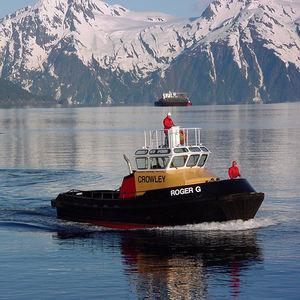 Mini-Schlepper-Berufsboot / Innenborder / Aluminium
