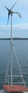Mast für Windradmontage