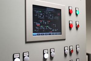 Überwachungs- und Bedientafel / für Schiffe