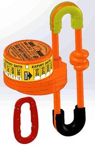 Abwurfsystem für EPIRBs (automatisch)