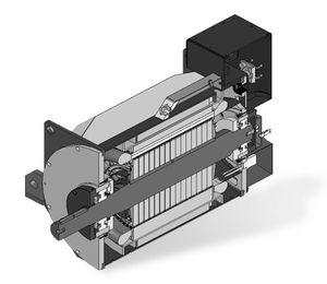 Lichtmaschine für Schiffe / Permanentmagnet / synchron