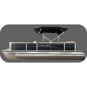 Außenbord-Pontonboot / Aluminium / max. 9 Personen