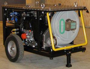 Hydraulikaggregat für Umweltschutzboote