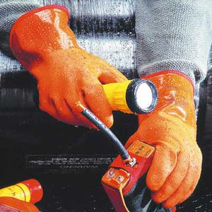 Handschuhe für Aquakultur
