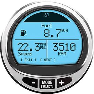 Standanzeige für Boot / Geschwindigkeit / digital / für Kraftstoffbehälter