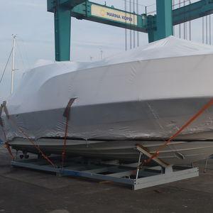 Motorboot-Bootsgestelle